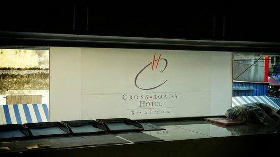 Crossroads Hotel : Reception Backdrop