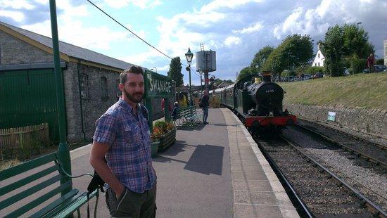 Swanage Railway: ...full steam ahead...