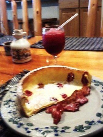 Second Wind Country Inn: breakfast