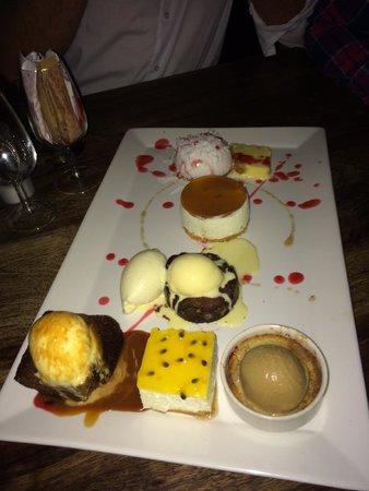 Licorish Bistro : Dessert Platter