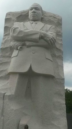 Martin Luther King, Jr. Memorial: Dr. King's Memorial in the day time.