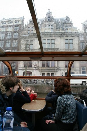 Amsterdam Canal Cruises: Views from cruise boat