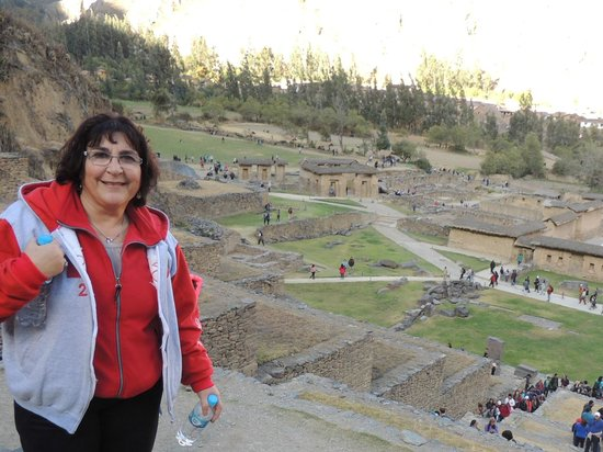 Tempel von Ollantaytambo: vista desde la ciudadela 1