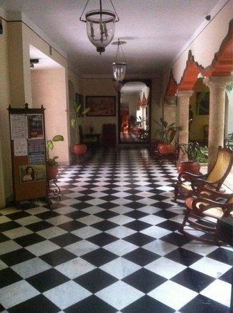 Hotel Casa del Balam : Reception