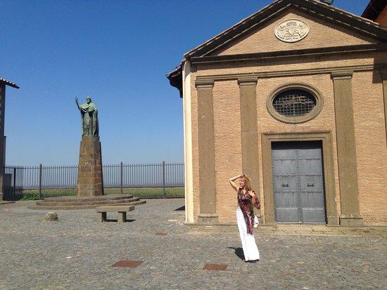 Abbazia Greca di San Nilo: Внутренний двор монастыря