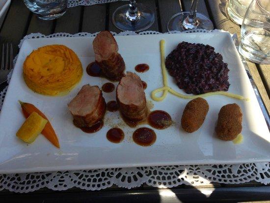 Bon thé Bonheur : Filet mignon au foin