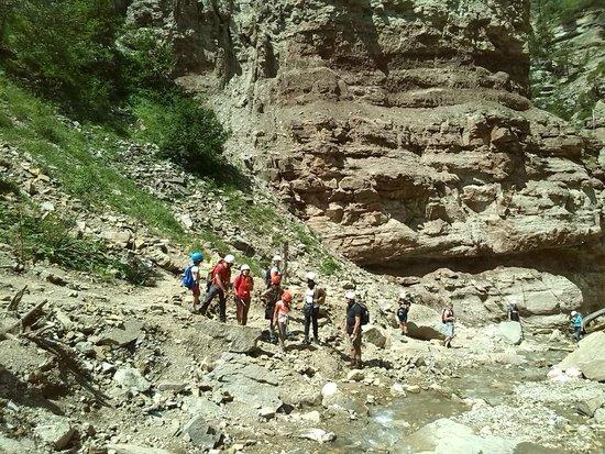 GEOPARC Bletterbach - UNESCO World Heritage: Geoparc, discesa nel canyon