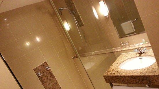 Capitol Hotel: Shower n toilet