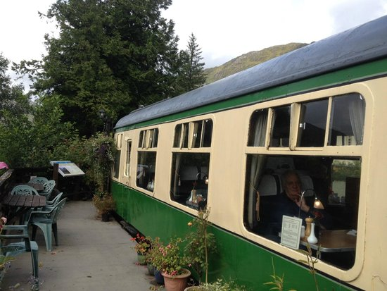 Glenfinnan Station Museum Dining Car: View of the dining car