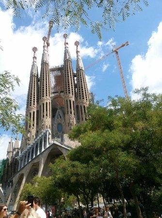 Citadines Ramblas Barcelona: La Sagrada Familia