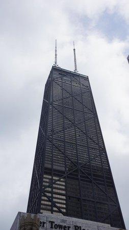 John Hancock Center/Aussichtsetage: Can't quite make out the tilt