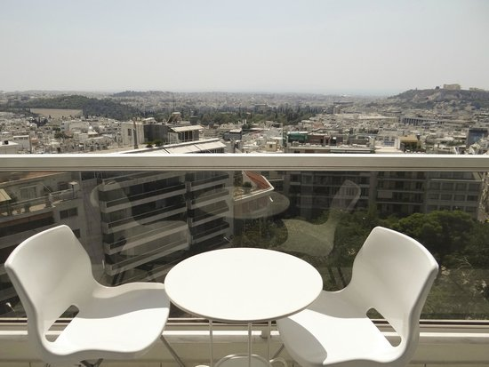 ​St. George Lycabettus Lifestyle Hotel: View from our room