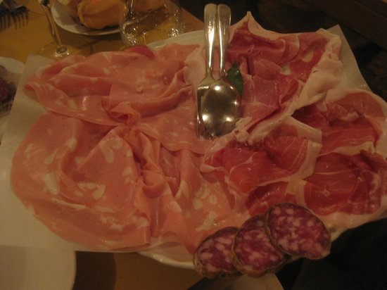 All'Osteria Bottega: asked them to give us a little of everything