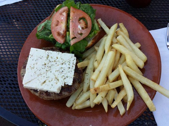 Pizza Bizzar : Athenian burger... delish!