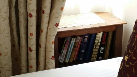 Hotel des Celestins : Books to read in the room