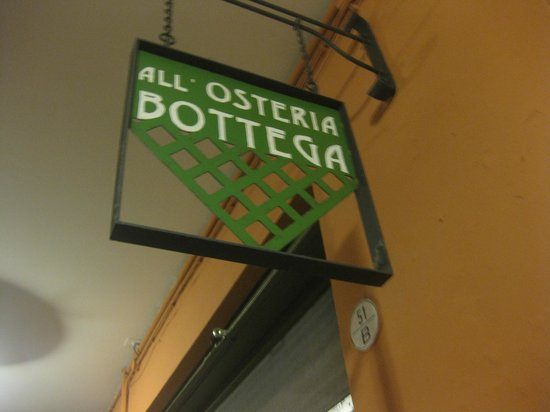 All'Osteria Bottega: a bit far from central but worth the trek