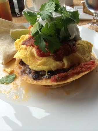 Auberge du Soleil : Huevos Rancheros