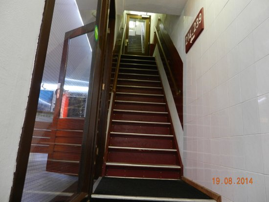 Hotel Ben: meno di metà delle scale da fare