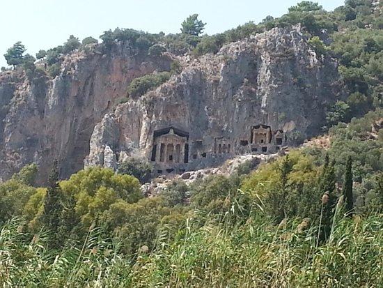 Pioneer Travel -Day Tours: Dalyan Necropolis