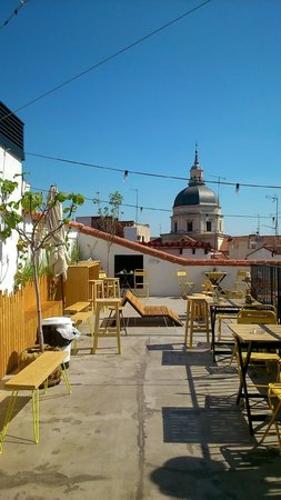 The Hat: Roof terrace