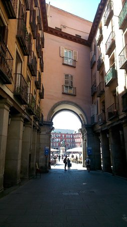 The Hat: Nearby Plaza Mayor