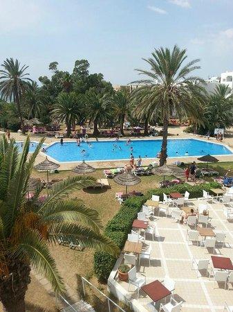 Palm Beach Club Hammamet: Het zwembad