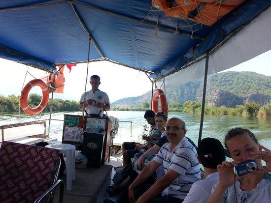 Oludeniz, Turkey: On the Dalyan river cruise