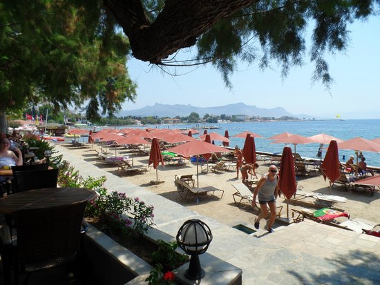 Kadikale Resort: pláž