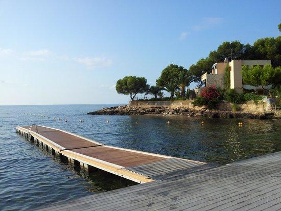 Hotel Son Caliu Spa Oasis: strandbryggan