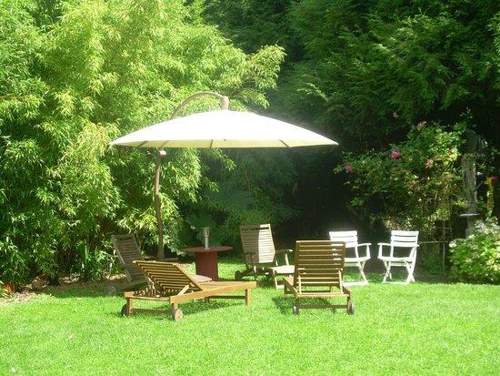 Villa Mon Repos: Le salon de jardin