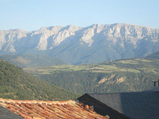 Hotel Restaurante Cal Teixido: Vista desde la habitación