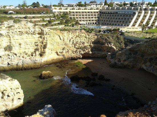 Tivoli Carvoeiro: hotel from the cliff
