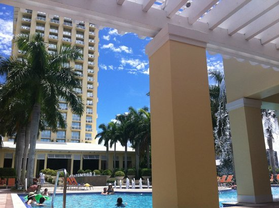 Hyatt Regency Coconut Point Resort & Spa: vom Pool aus