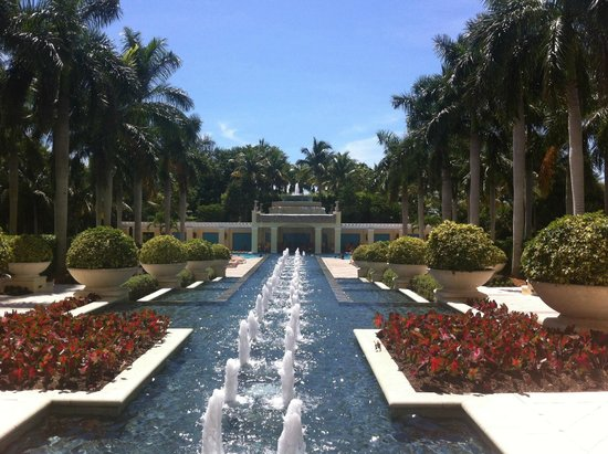 Hyatt Regency Coconut Point Resort and Spa: zu den Pools