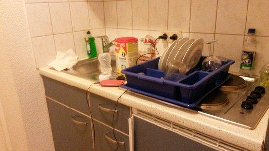 IFA Ferien-Centrum Südstrand: die Riesen Küche für 5 Personen