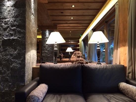 Chalet hotel La Marmotte: Bar Lounge