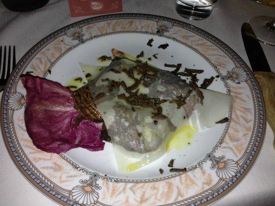La Griglia: Feletto met Parmezan en truffel
