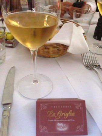 La Griglia: Visitiekaartje