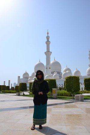 Mosquée Cheikh Zayed : vista externa