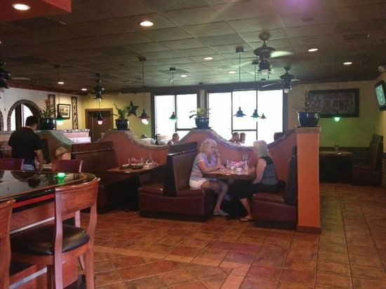 La Palma Mexican Grill: One of three dinning areas