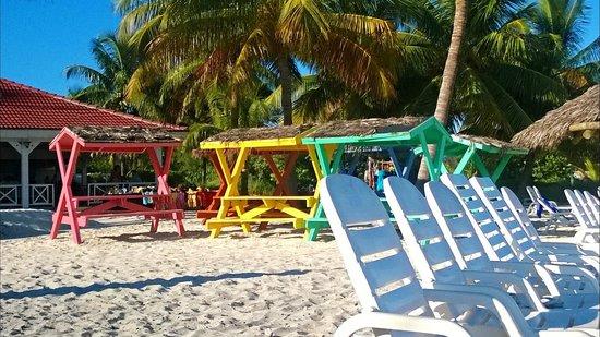 Taino Beach Resort & Clubs: Picnic area on the beach