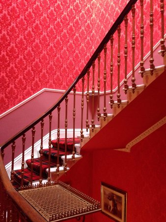 Ritz Edinburgh: The stairs to the first floor