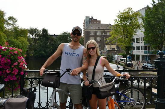 Mike's Bike Tours & Rentals: Mike's Bike Tour in Amsterdam!