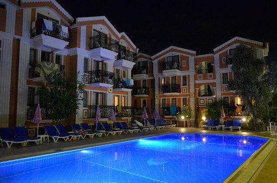 Magic Tulip Beach Hotel : Hotel and pool