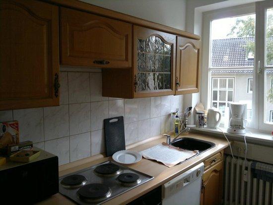Ferienwohnungen Weiss : Küche Wohnung 2