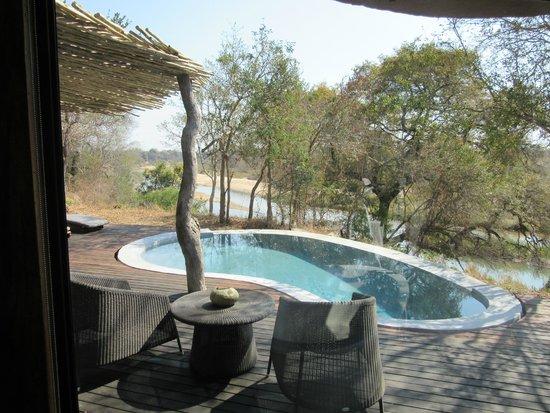 Singita Boulders Lodge : Private pool