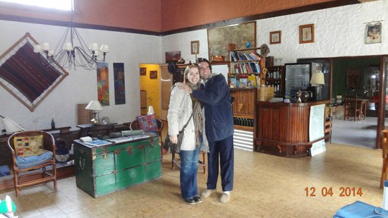 Schilling Hostal Patagonico: Lobby