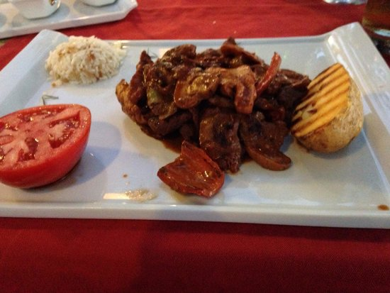 Side Orfoz Restaurant: Ottoman kebab