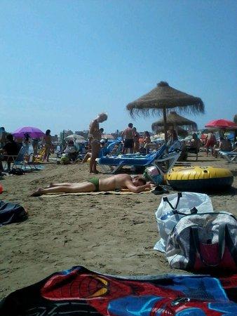 Servigroup Papa Luna: Excelente playa