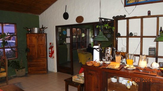 Schilling Hostal Patagonico: Comedor